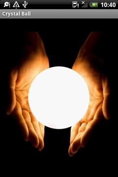 预知未来的占卜水晶球