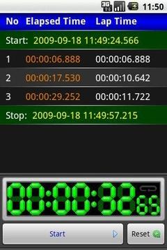 秒表 aStopwatch
