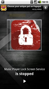 音乐 Music Player Lock Screen