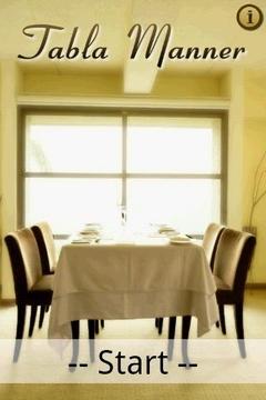 餐桌礼仪 Table Manner