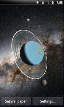 3D太阳系动态壁纸