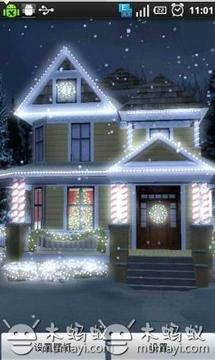 节日彩灯动态壁纸汉化版 Holiday Lights