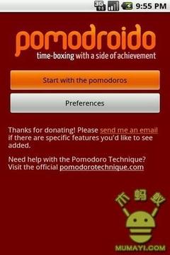 番茄钟计时器 Pomodroido