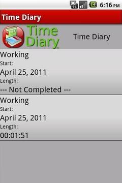 时间日记 Time Diary