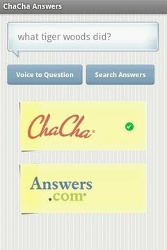 ChaCha回答你