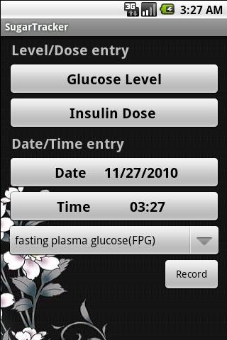 血糖记录软件