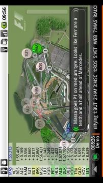 F1 实时赛场跟踪 F1 2010 Timing