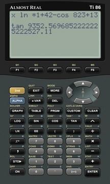 TI-86模拟计算器