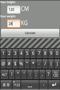 BMI计算器 BMI Calculator