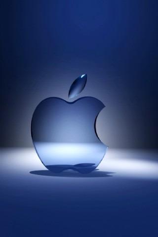 立体苹果矢量图