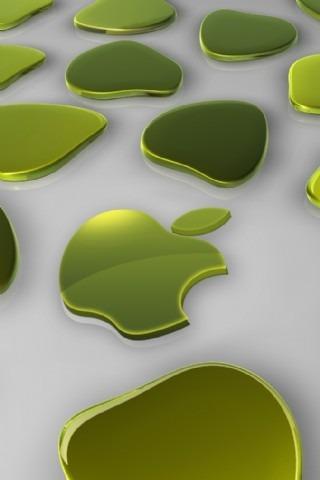 酷趣3d苹果壁纸ii