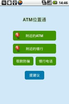 ATM位置通
