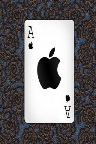 酷三维苹果壁纸