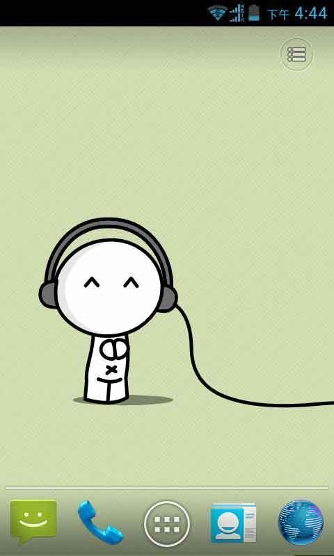 懂音乐的超可爱宝宝动态壁纸