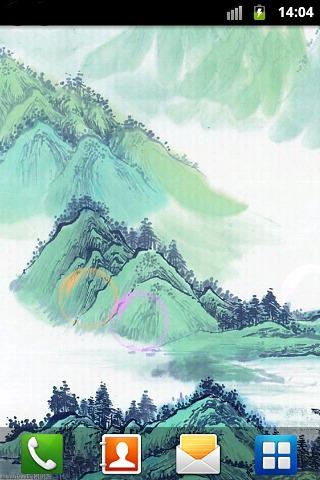 山水水墨画动态壁纸下载图片