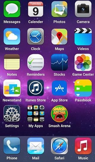 iOS8 概念桌面 安卓 iOS8 概念桌面免费下载 P