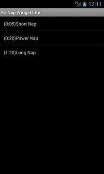 EZ Nap Widget Lite