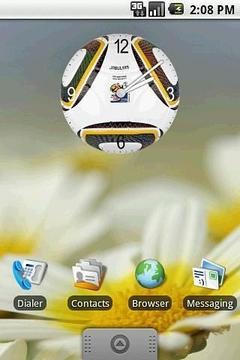 足球时钟插件 2x2