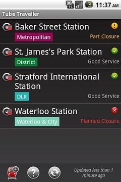 London Tube Traveller
