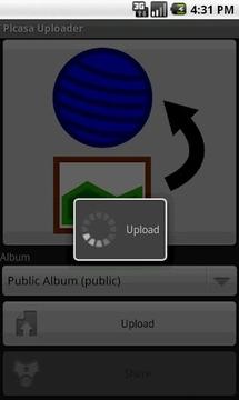 Picasa Uploader