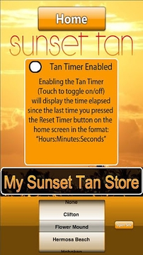 Sunset Tan