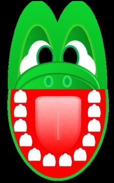 经典鳄鱼牙