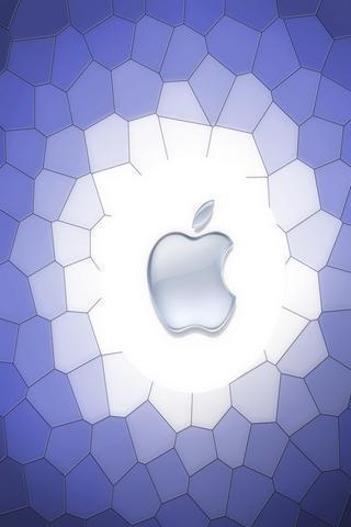 三维苹果标志壁纸