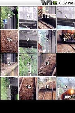 Train Slide Puzzles