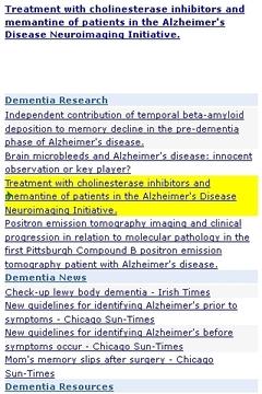 Dementia Updates