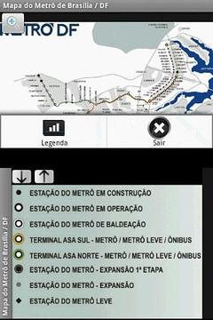 Metro Map - Brasilia - Brazil