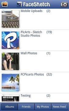 PicArts FaceSketch 相片彩描