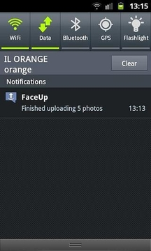 FaceUp照片快速分享