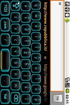水质感键盘皮肤