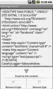 查看网页的源代码