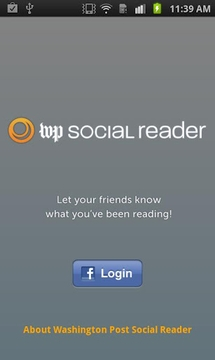 Washington Post Social Reader