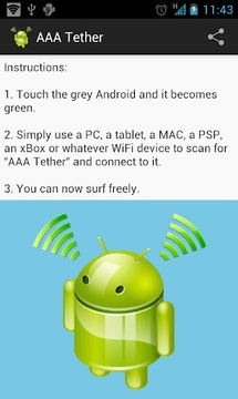 Easy Wi-Fi Tether
