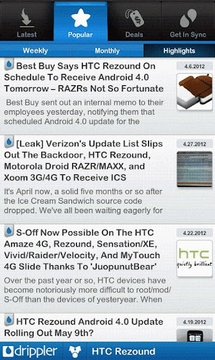 Ultimate HTC Rezound App