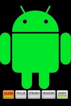 闪烁机器人Blinking android