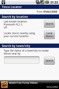 Tesco Locator
