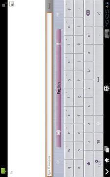 GO Keyboard Simple love(Pad)