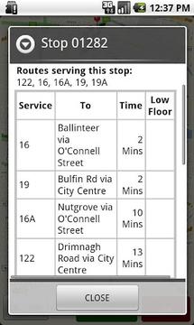 Dublin Bus GPS