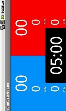 Jiu Jitsu Scoreboard
