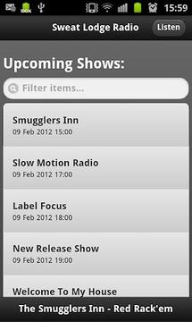 Sweat Lodge Radio