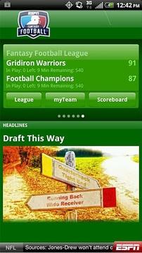 ESPN Fantasy Football 2012