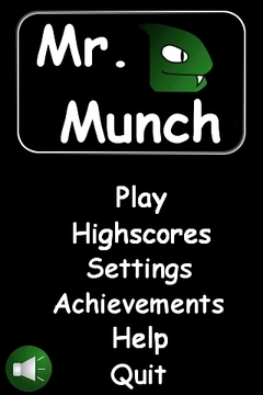Mr. Munch (Snake game)