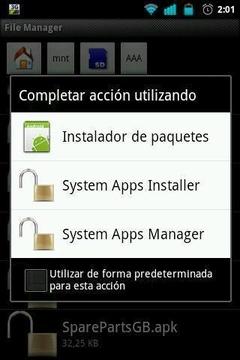 System Apps Installer