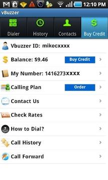 Vbuzzer VoIP Free Calls