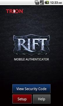 裂谷移动验证器 RIFT Mobile Authenticator