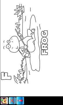为儿童画的字母