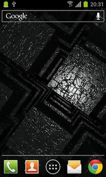AI Cluster Live Wallpaper